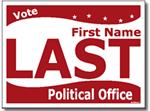 Design P108 Political Sign Design