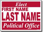 Design P11 Political Sign Design