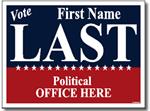 Style P205 Political Sign Design