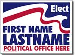Style P211 Political Sign Design
