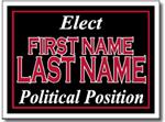 Design P42 Political Sign Design