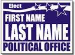 Style P91 Political Sign Design