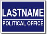 Design PSSW3 Political Sign Design
