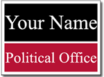 Style PSSW6 Political Sign Design