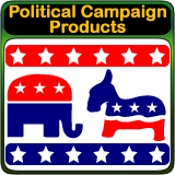 Political Campaign Marketing Products and Political Signs