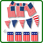 Political Pennant Strings