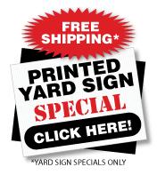 political sign design your own online