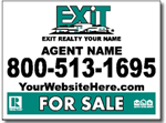 Design RE16 Exit Realty Sign Design