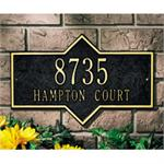Hampton Design Personalized Address Plaque