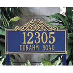 Villa Nova Design Personalized Address Plaque