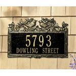 Woodland Wren Design Personalized Address Plaque