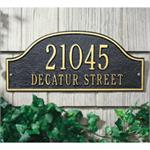 Custom Address Plaques by Whitehall - Admiral Design