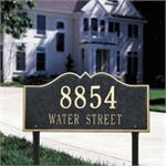 Hillsboro Design Personalized Address Plaque