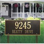 Hartford Design Personalized Address Plaque