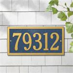 Bismark Design Personalized Address Plaque