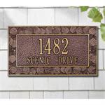 Aspen Standard Personalized Address Plaque