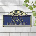 Sunburst Design Personalized Address Plaque