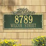 Ivy Design Personalized Address Plaque