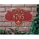 Rochelle Design Personalized Address Plaque