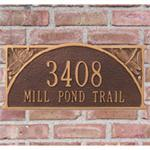 Dragonfly Design Personalized Address Plaque