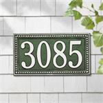 Egg and Dart Design Personalized Address Plaque