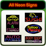 All Neon Signs - Real neon signs - Hundreds of styles