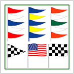 Auto Antenna Pennants and Flags