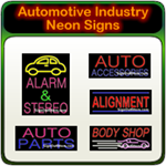 Automotive Industry Neon Signs