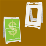 Econ Classic Portable A-Frame Sign