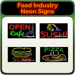 Food Industry Neon Signs
