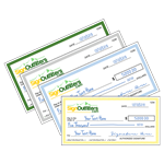 Giant checks for charity events, promotions, marketing and more.