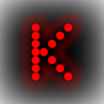 LED Signs by Letter - K
