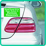 Magnetic Bumper Stickers