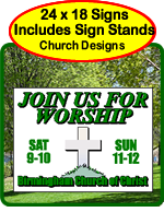 Church Yard Signs, Church Festivals, Vacation Bible School, Bible Studies, Mass Times, and more