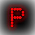 LED Signs by Letter - P