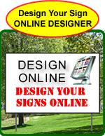 Design political signs online.