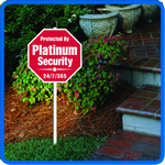 Security Signs and Security Yard Signs