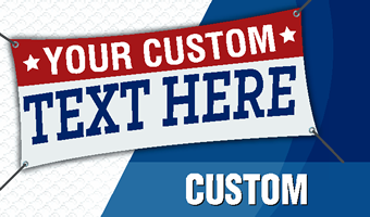 Custom Banners. Design, Upload or let us Design your banner.