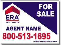 Style RE18 ERA Real Estate Sign Design