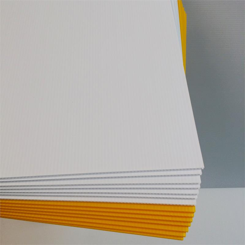 Corrugated Plastic Sign Material