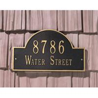Personalized Address Plaque Wall Mount Standard