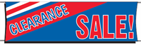 Clearance Sale Banner - 3 x 10 Slogan