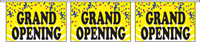 Grand Opening Pennant String - Confetti Style