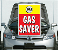 Under The Hood Single Sign - Gas Saver