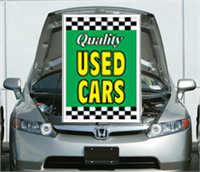 Green Under The Hood Single Sign - Qualtiy Used Cars