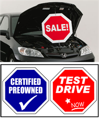 Under The Hood Twisting Sign - Certified Preowned / Test Drive Now