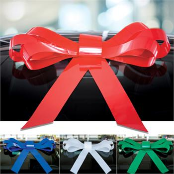 Giant Windshield Bow Available in 4 Colors, Red, Green, White, and Blue