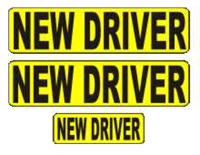 New Driver Magnetic Car Sign Kit