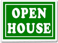 Open House. Set out and show off your house today!