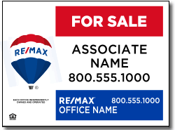 Design RE20 Re/Max Sign Design